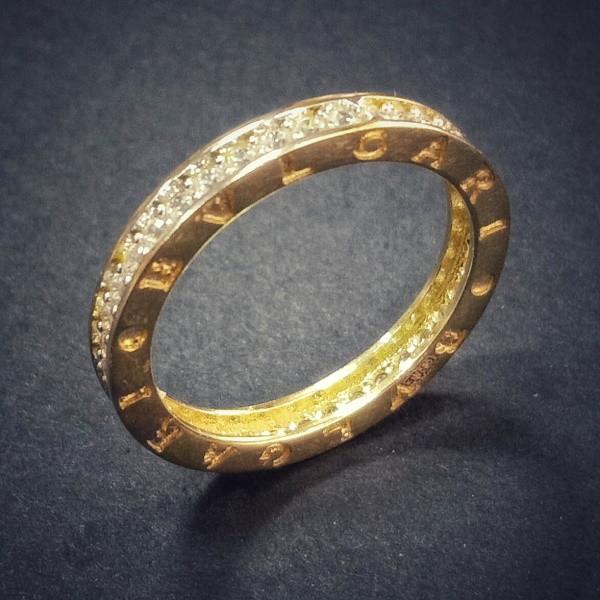 25c6386ed1a Золотое кольцо Булгари - 970178704 - АскидА - Официальный сайт в ...
