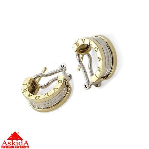 be122217d15e Серьги Булгари из золота 585 - АскидА - Официальный сайт в России ...