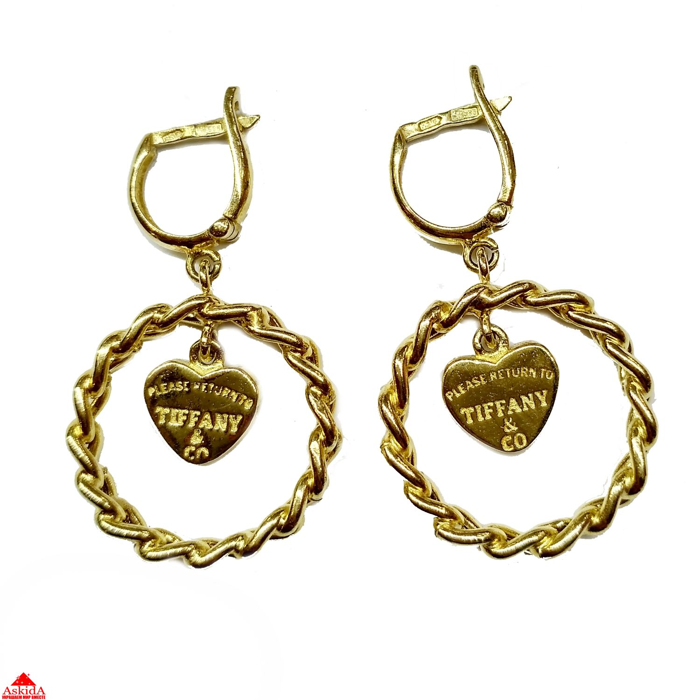 Модные ювелирные украшения 2018 и мода на золотые ювелирные украшения 98