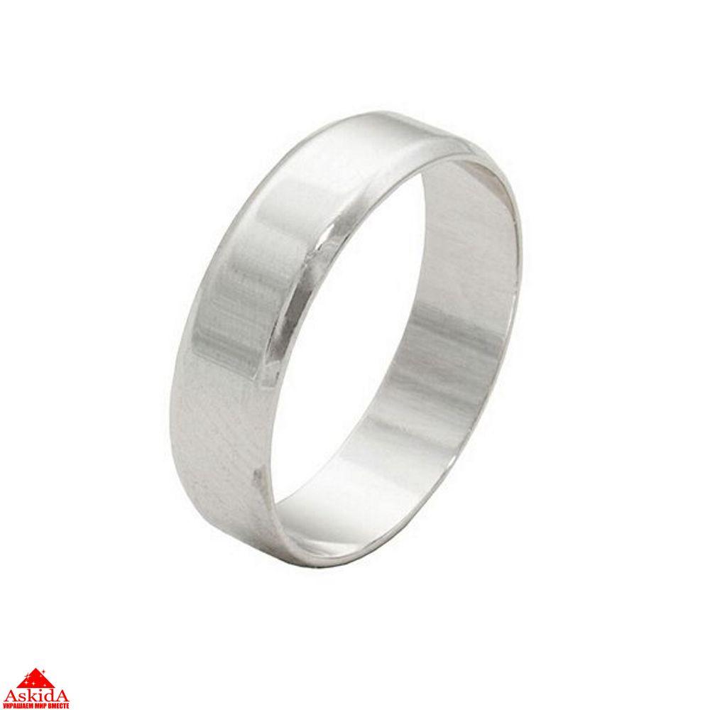 Гладкое обручальное кольцо 2 мм из белого золота - АскидА ... 692a219d42a