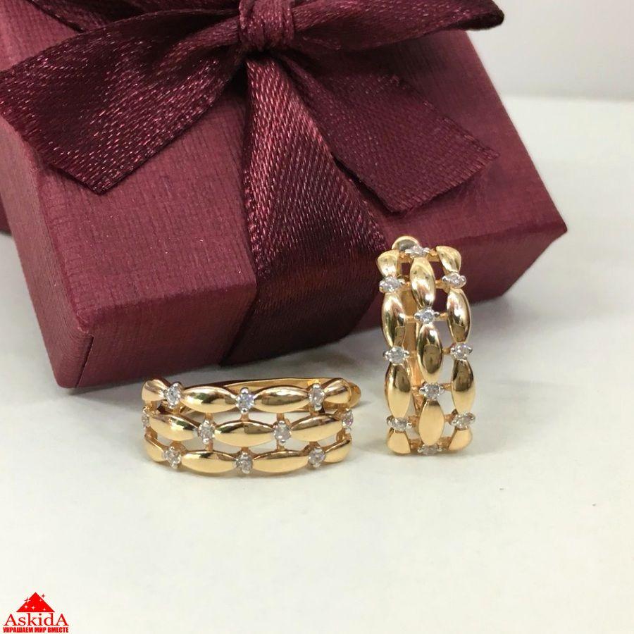 Серьги из золота 585 пробы - 7592383 - АскидА - Официальный сайт в ... 3fad81b0ec4