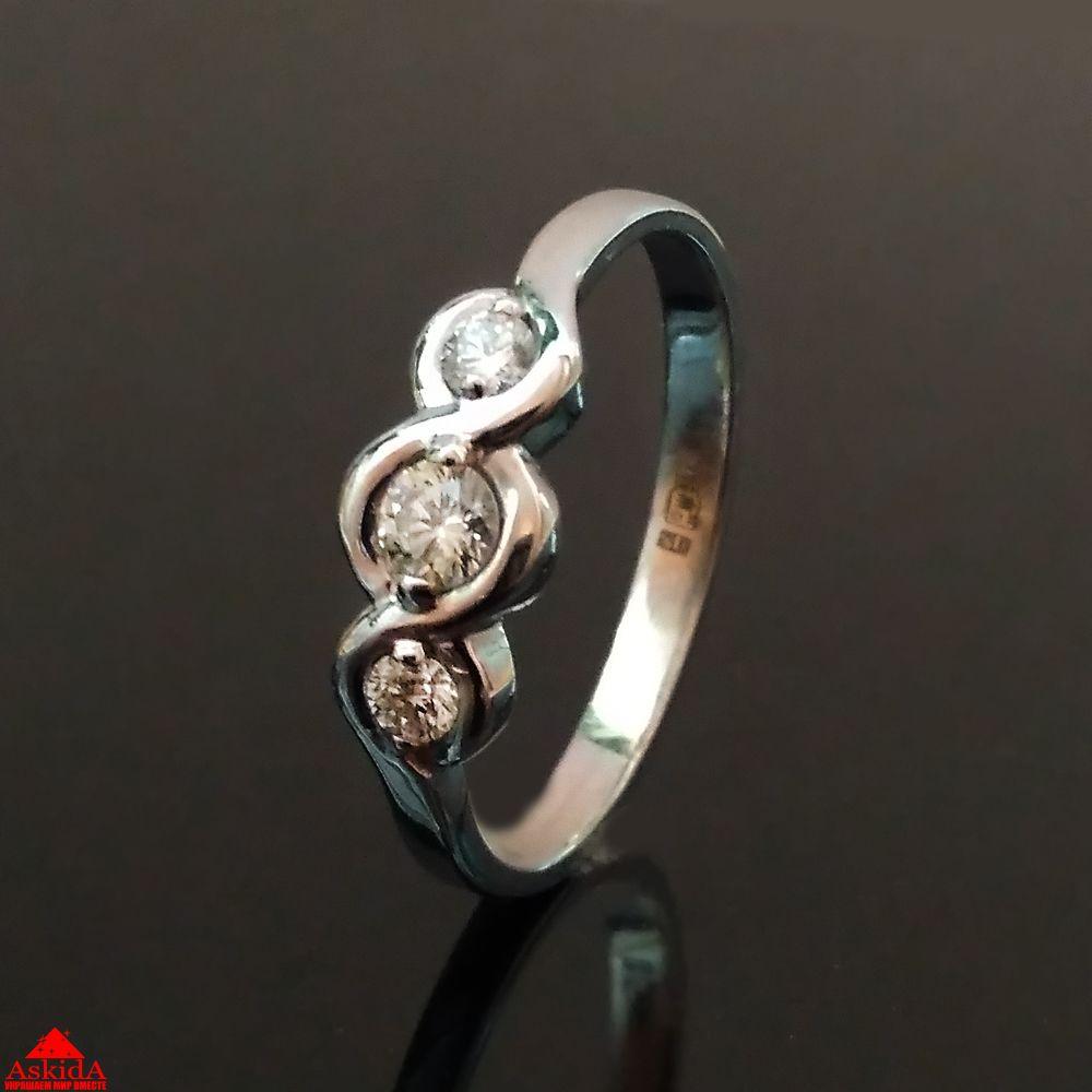 Золотое кольцо с бриллиантами - 970013307 - АскидА - Официальный ... ca53be4a8a6