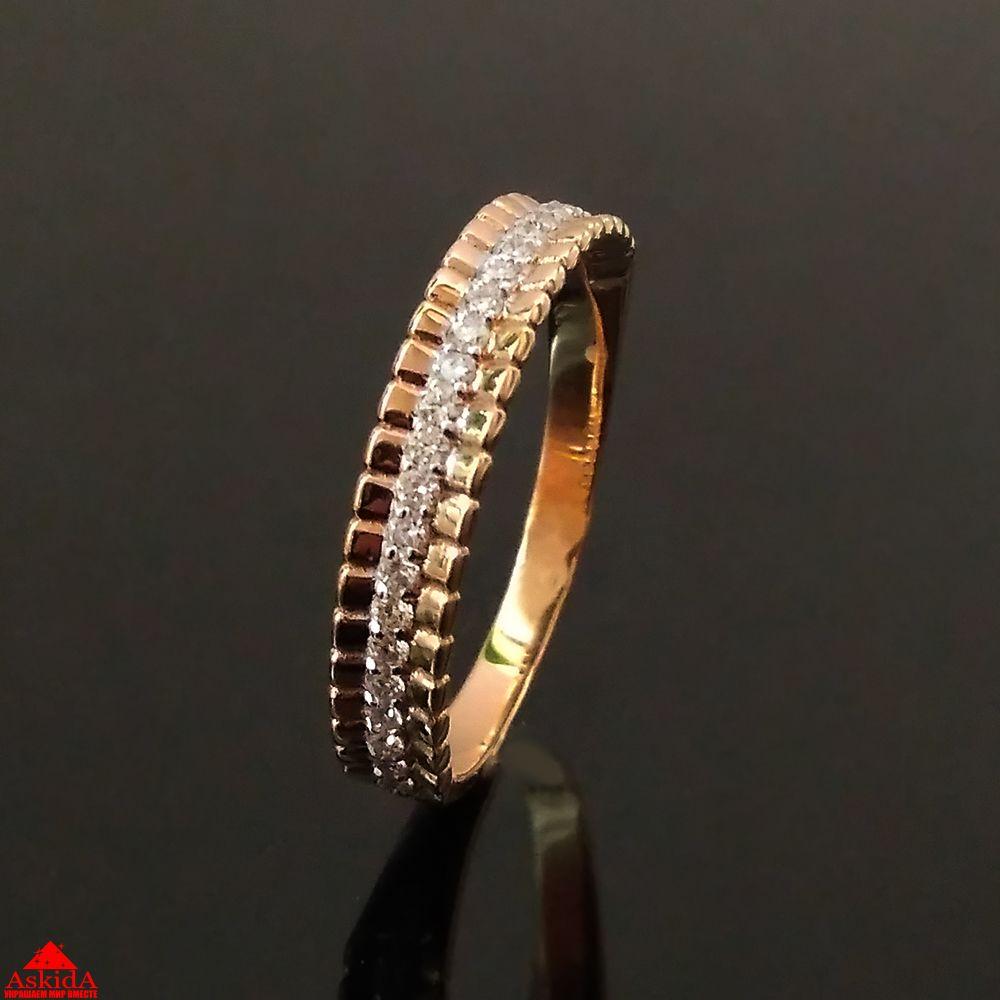 Обручальное кольцо с бриллиантами - 970195731 - АскидА - Официальный ... df30b364906